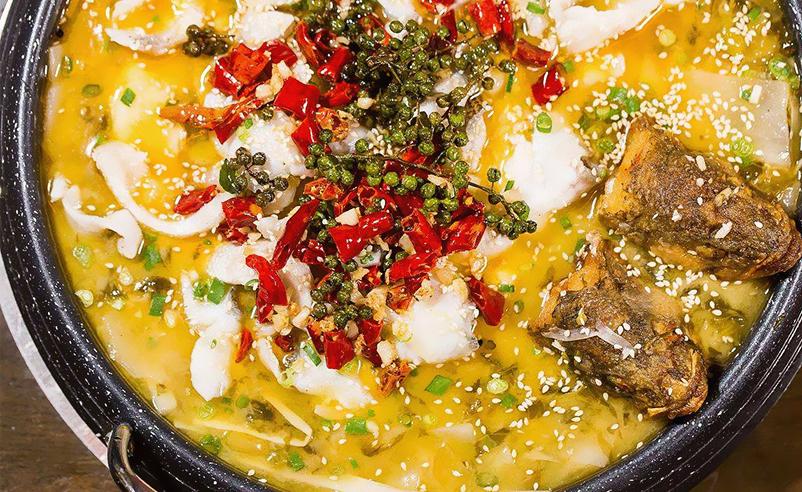 藤椒酸菜鱼